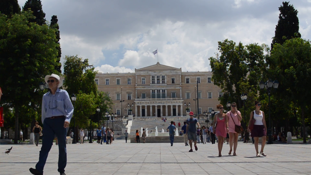 Syntagma Square and Parliament Building