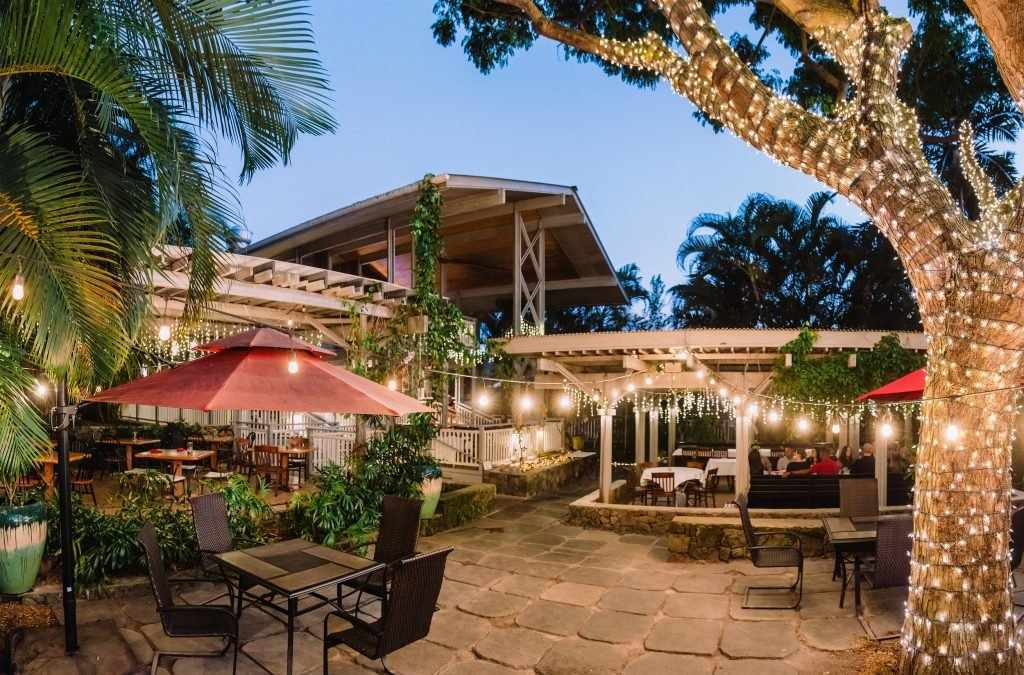 Holuakoa Gardens and Café, Kona Mountains restaurants, organic ingredient meals
