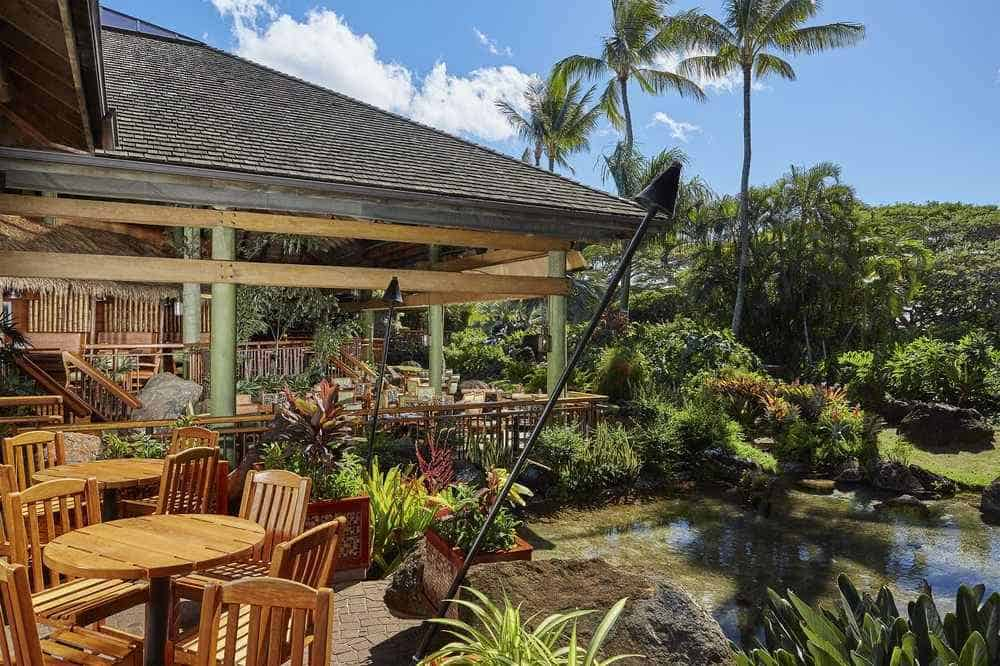 Keoki paradise restaurant menu, seafood restaurants Hawaii