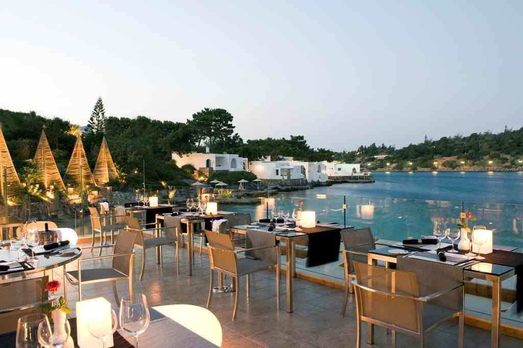 Minos Beach Art Hotel view, Minos Beach Art Hotel amenities, hotels in Crete with private pools
