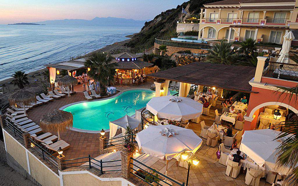 best hotels in corfu for families