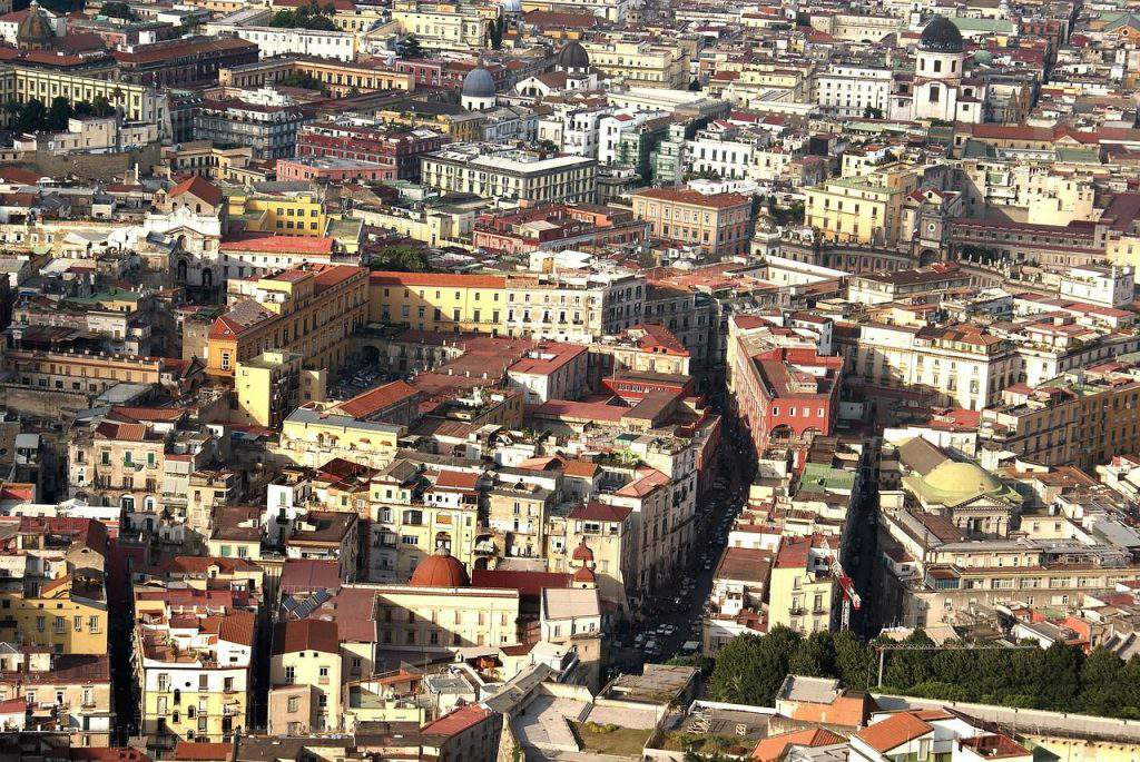 vomero naples view, vomero naples tour