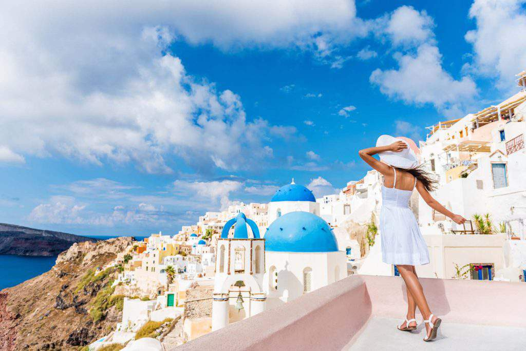 santorini solo travel, santorini solo female travel