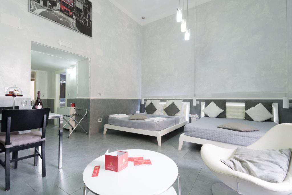"""suite apartments angioini naples"""