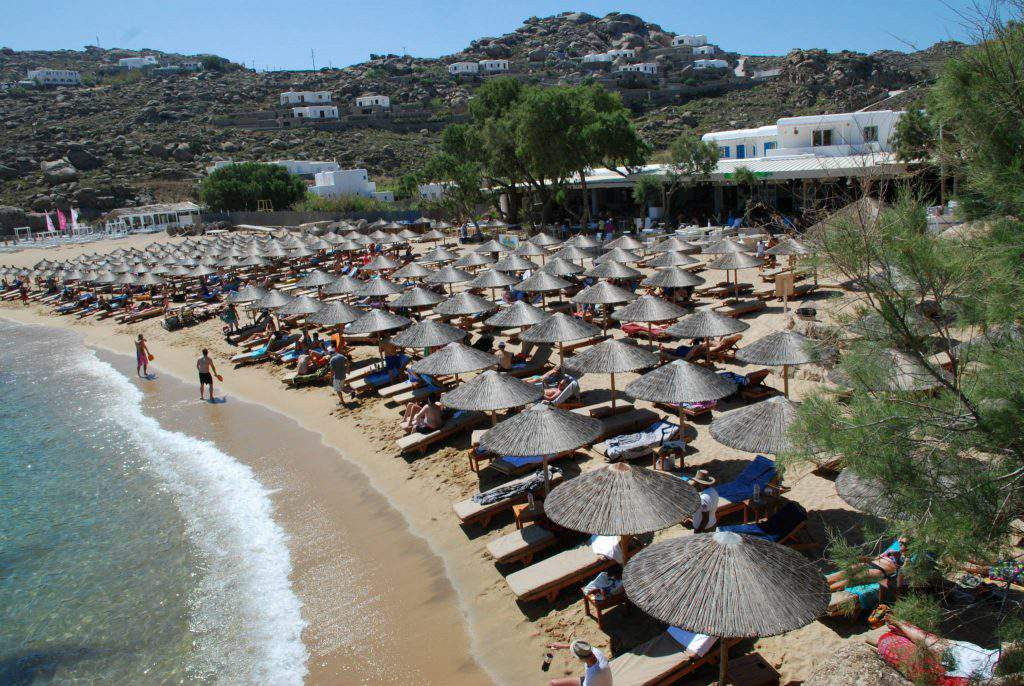 super paradise beach club mykonos greece, super paradise beach club reviews, super paradise beach club events