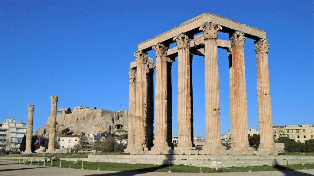 The Olympion, or Temple of Olympian Zeus