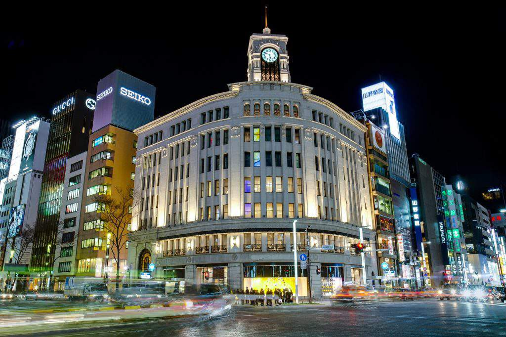 ginza tokyo, ginza grand hotel, ginza attractions
