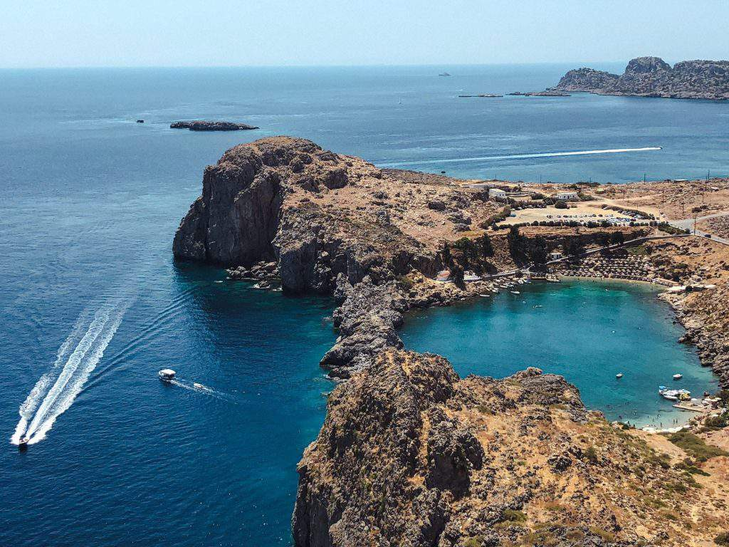 itinerary for Greek Island, suggested itinerary for greek islands