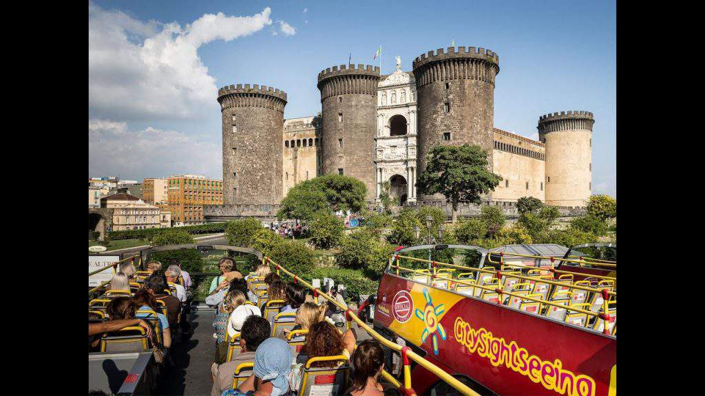 naples italy tourist attraction, naples italy sightseeing bus, naples italy tourist information