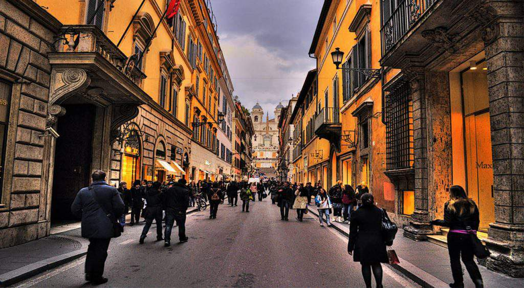 best shopping places in rome, best affordable shopping area in rome