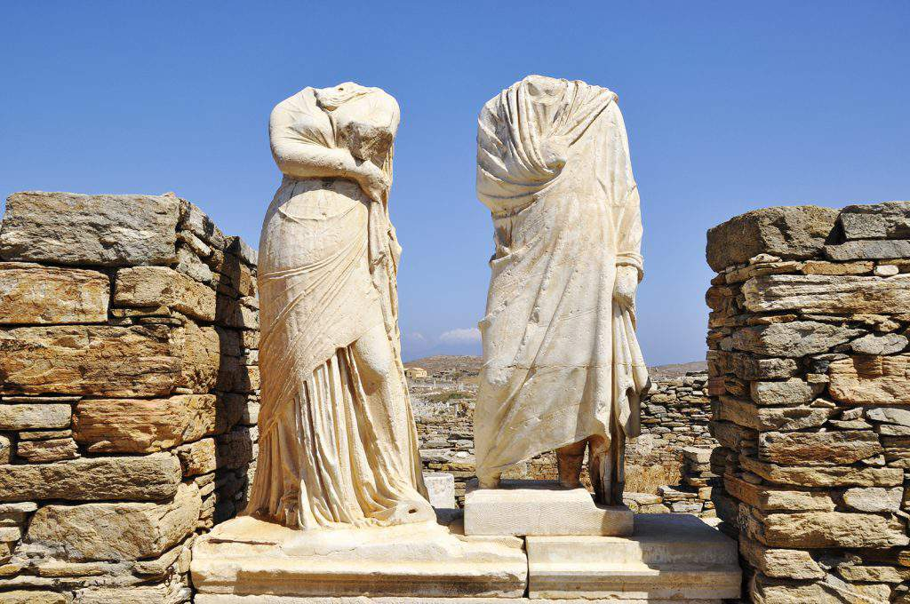 delos tour guide, ancient delos tour, delos tours review