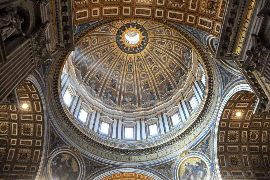 St. Peter's Dome, st peter's dome rome