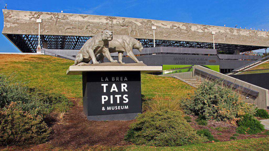 la brea tar pits and page museum los angeles, la brea tar pits page museum