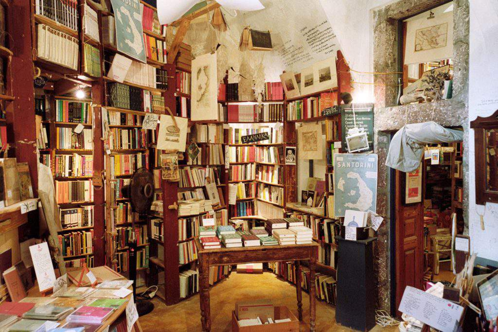 atlantis books in oia, atlantis books oia greece