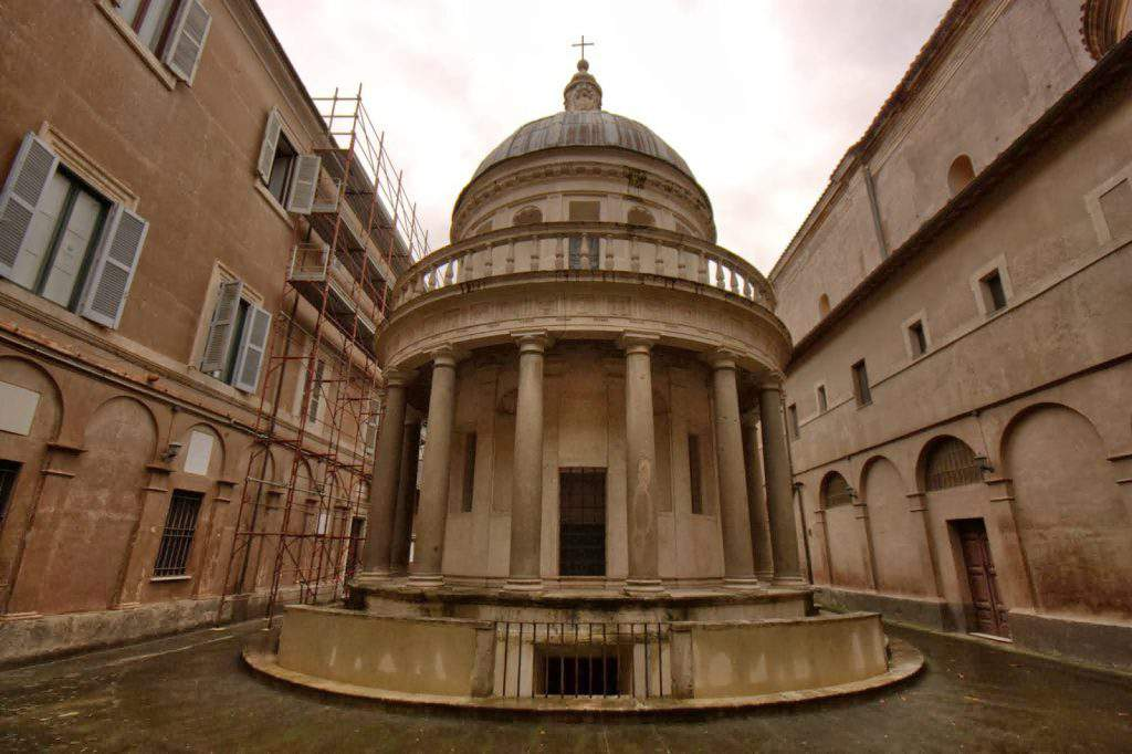 the tempietto architecture,the tempietto khan academy,why is the tempietto significant