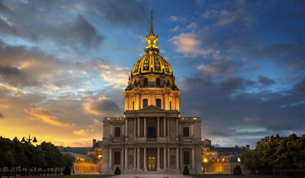 les invalides army museum paris france, les invalides napoleon's tomb & army museum