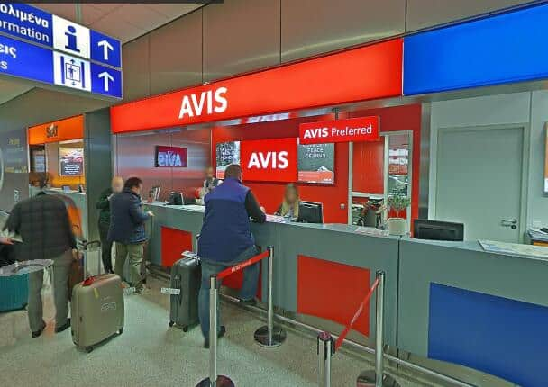 Renting cars at the Athens Airport