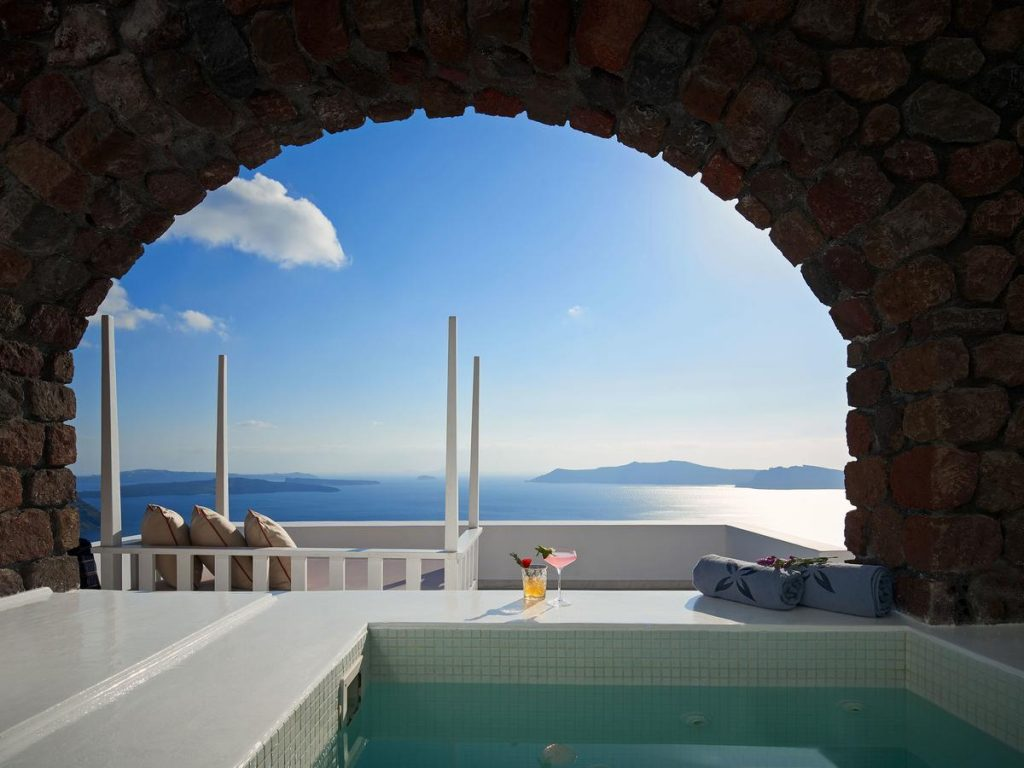 Room with private pool