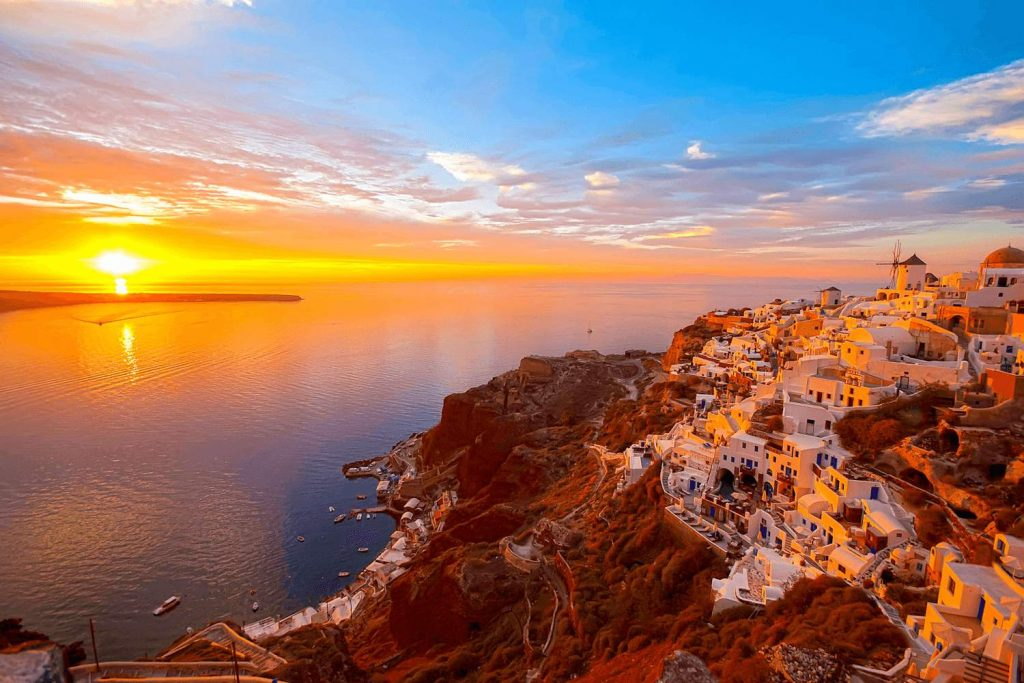 Santorini Hotels With Sunset Views