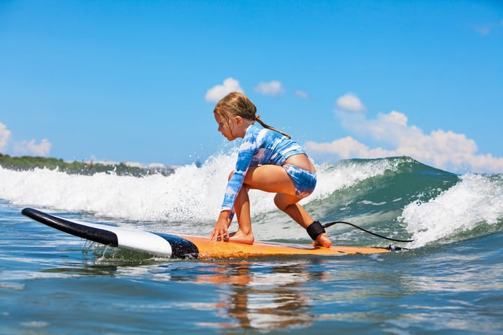 Surfing in Mexico With Kids